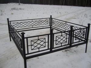 ограда на кладбище от производителя